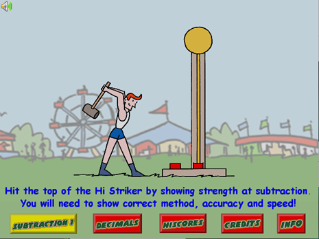 Screen shot of Strongman Challenge